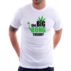 The Big Bong Theory - Marihuana - Pánské Tričko s vtipným potiskem