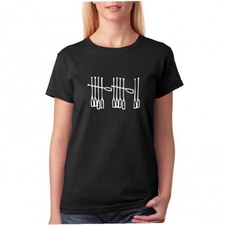 Vodácké tričko - Marihuana - Dámské Tričko s vtipným potiskem
