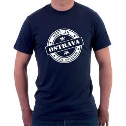 Made in Ostrava - Pánské Tričko s vtipným potiskem