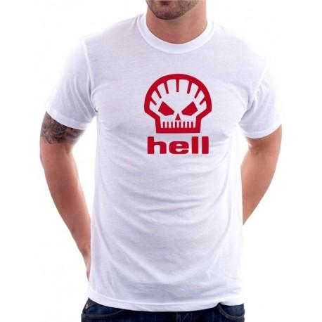 Hell - Pánské Tričko s vtipným potiskem