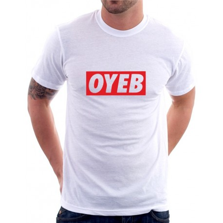 Parodie na oblečení OYEB  - Pánské Tričko s vtipným potiskem