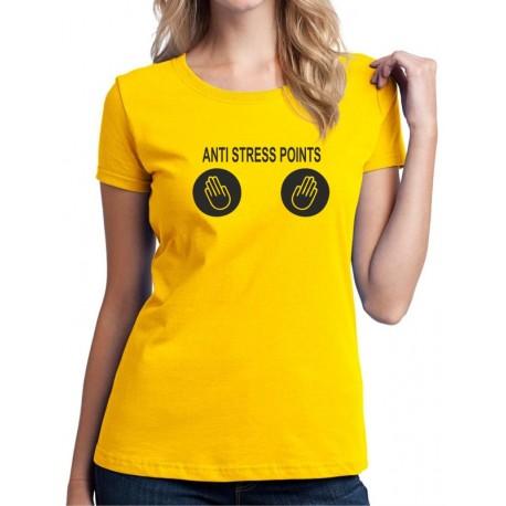 Anti Stress Points  - Dámské Tričko s vtipným potiskem