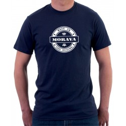 Made in MORAVA  -  Pánské Tričko s vtipným potiskem