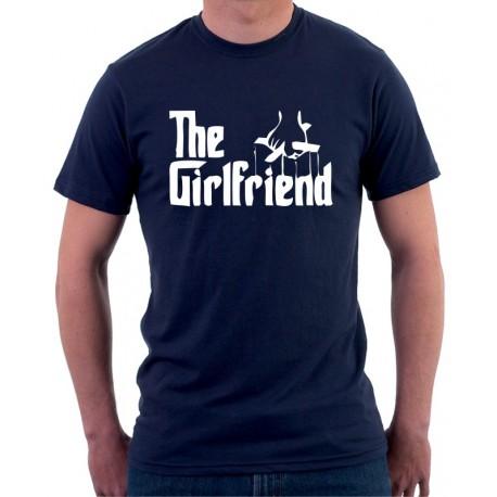 The Girlfriend -  Pánské Tričko s vtipným potiskem