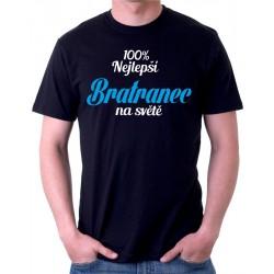 Tričko pánské 100% nejlepší Bratranec na světě