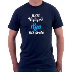 Pánské tričko 100% nejlepší Syn na světě