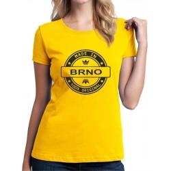 Tričko dámské Made in BRNO