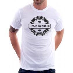 Pánské tričko Made in CZECH REPUBLIC