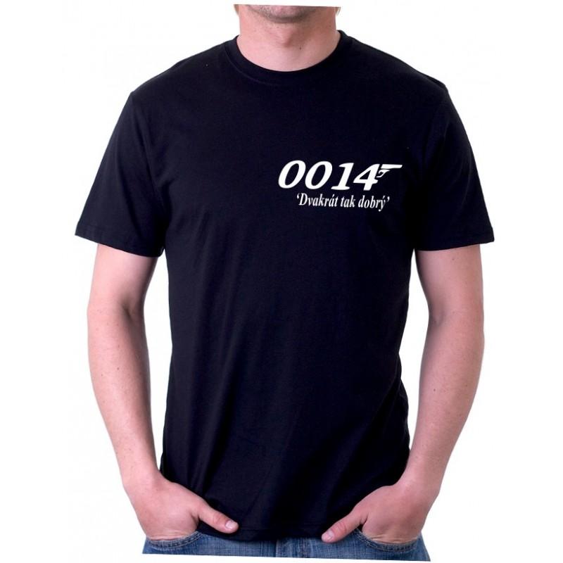 73031e5b591 0014 Dvakrát tak dobrý - Pánské Tričko s vtipným potiskem ...