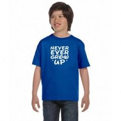 Dětské tričko Never Ever Grow up.