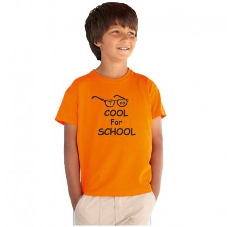 Dětské tričko Too Cool For School. Dárek pro chlapce