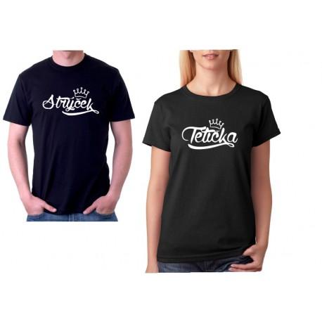 Párové tričko - Tetička - Dámské Tričko s vtipným potiskem