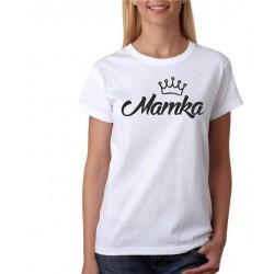 Dámské tričko Mamka s korunkou, dárek pro mámu