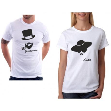 Lady - Dámské Tričko pro zamilované páry