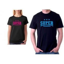 Tričko pánské Super Manžel