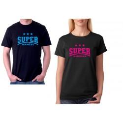 Tričko dámské pro manželky Super Manželka