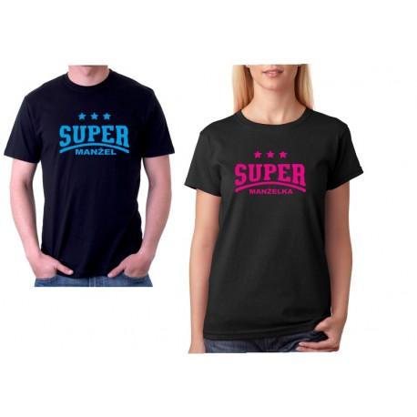 Super Manželka - Dámské dárkové tričko pro manželky