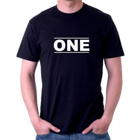 One - Pánské tričko pro zamilované páry