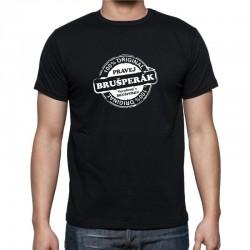100 % Pravej Brušperák Narozený v Brušperku - Pánské Tričko s vtipným potiskem