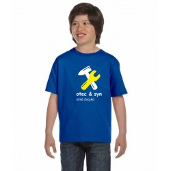 Otec a syn, silná dvojka - Dětské tričko s potiskem