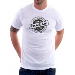 100 % Originál Pražák Narozený v Praze - Pánské Tričko s vtipným potiskem