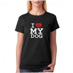 Tričko dámské I LOVE MY DOG