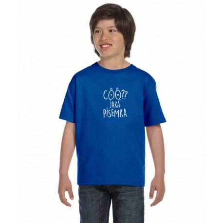 Coo? Jaká písemka - Dětské tričko s vtipným motivem