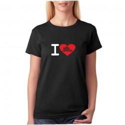Tričko dámské I Love Hasiče
