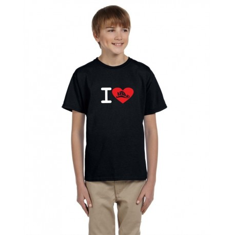 Hasiči v oblibě - Dětské tričko s hasičskou tématikou
