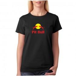 Pit Bull - Dámské tričko s parodií na redbull