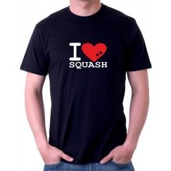 Pánské triko I Love Squash