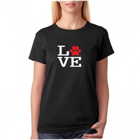 Mám ráda pejsky - Dámské tričko s potiskem o pejscích