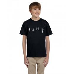 Křivka s motivem pejska - Dětské tričko s motivem  o pejscích