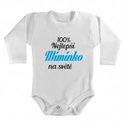 100% nejlepší Miminko na světě. Kojenecké body pro vaše miminko.
