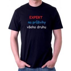 Pánské tričko EXPERT na průšvihy všeho druhu