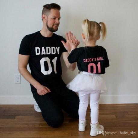 Daddy's Girl 01 - Dětské tričko s potiskem pro holčičky