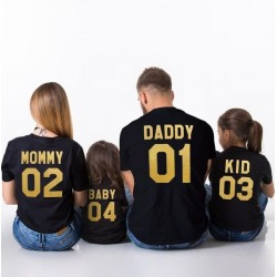 Daddy 01 - Pánské tričko s potiskem pro tatínky, rodinné tričko