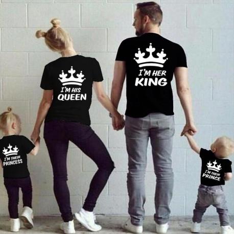 I  am her King - pánské tričko pro páry, Jsem její král