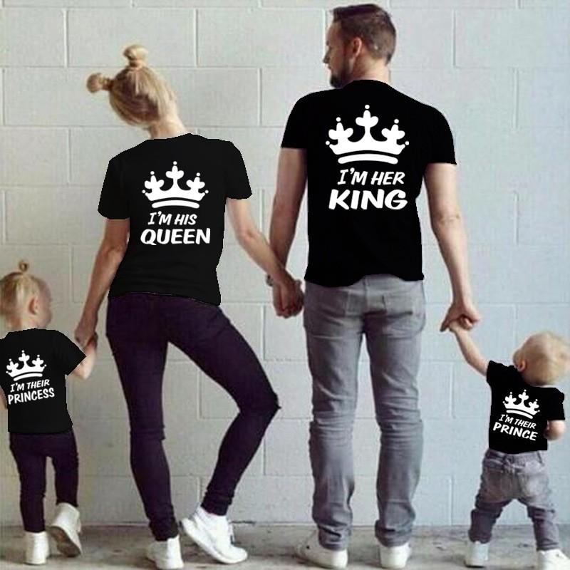 2212c56f3187c I am her King - pánské tričko pro páry s potiskem Já Jsem její Král