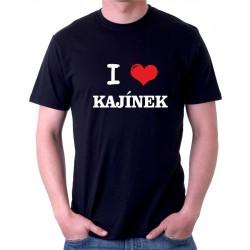 Pánské triko I love Kajínek