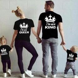 I am His Queen - Dámské tričko pro páry, Já jsem jeho Královna