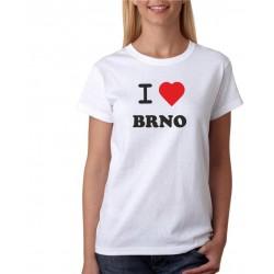 Tričko dámské I love Brno