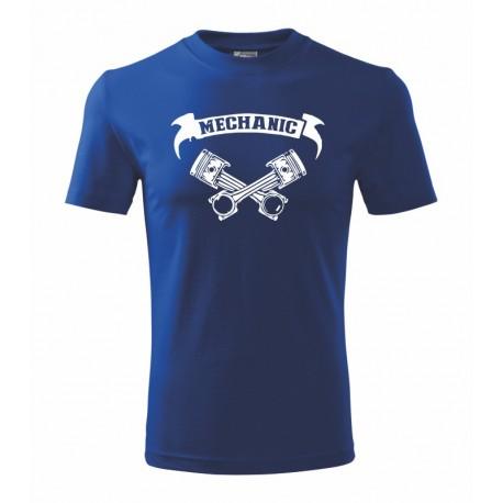 The Machanic- vtipné pánské tričko pro auto mechaniky
