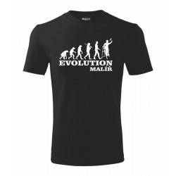 Tričko pánské Evoluce Malíř
