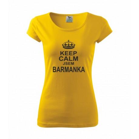 Keep Calm Jsem Barmanka  - Dámské tričko pro Barmanky