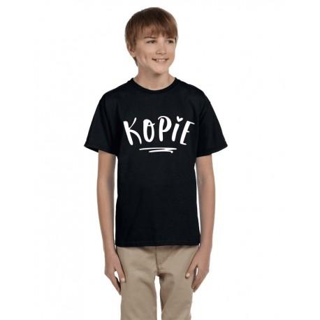 Kopie - Dětské tričko s potiskem nápisu kopie