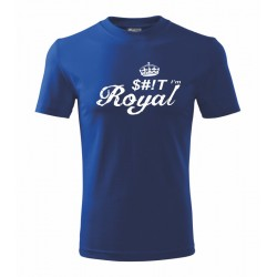 Pánské tričko SHIT I`am Royal