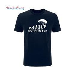 Born to Fly - Pánské tričko s motivem evoluce