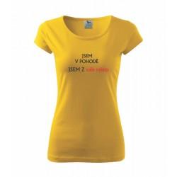 Nejlepší prodavačka, ověřeno - Dámské tričko jako dárek pro ženu pracující jako prodavačka