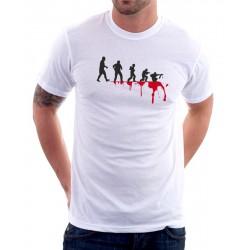 Evolution Voják - Pánské Tričko s vtipným potiskem